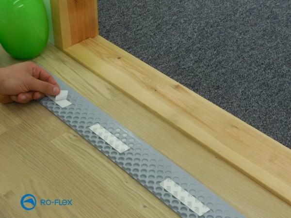 Quickramp 4 - 8 mm Höhe inkl. Befestigungsmaterial