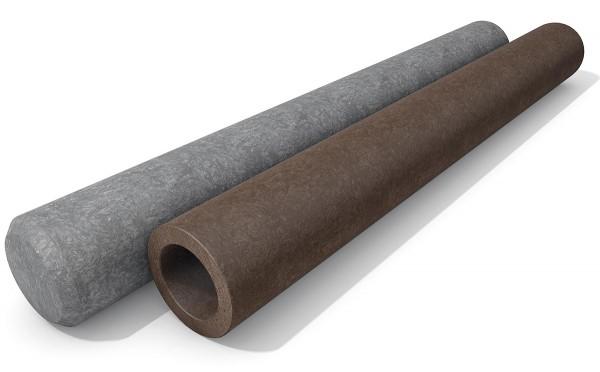 Rundpalisaden Ø 10 cm aus Kunststoff