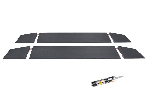 Verkehrsinsel Rampen Set 6-teilig 150cm breit 45mm hoch