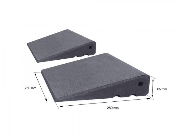 Bordsteinrampe Excellent Set 65mm hoch
