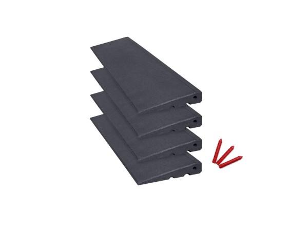 Bordsteinrampen Set 4m breit, 45mm hoch