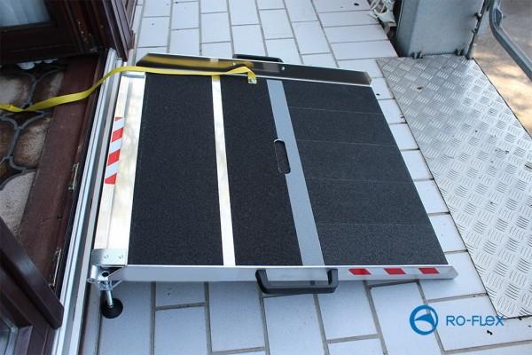 BTR Rampe für Balkon- und Terrasse Aluminium